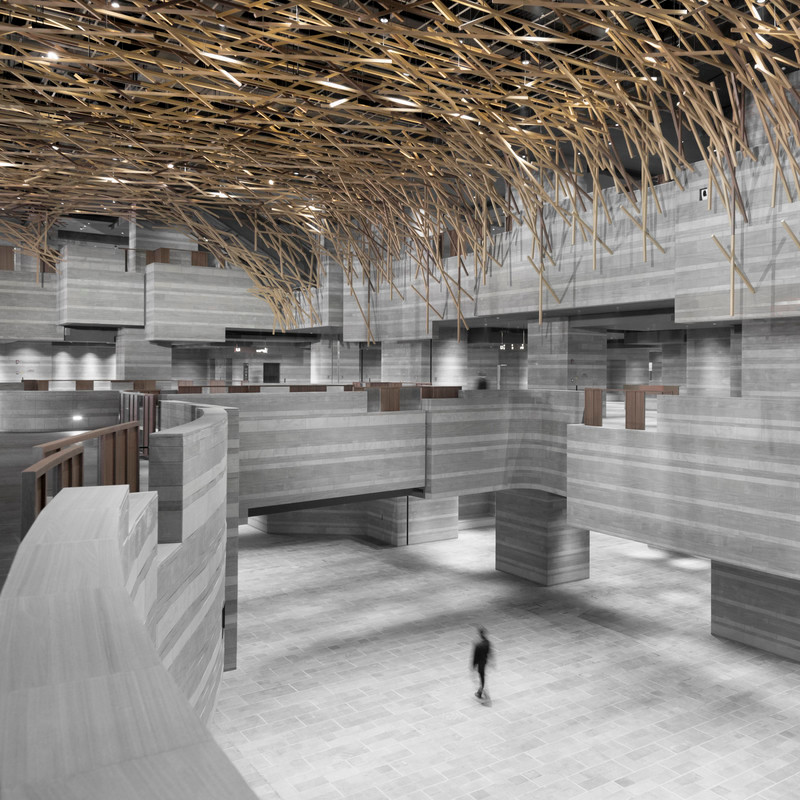 Press kit - Press release - The HUB Performance and Exhibition Center - Neri&Hu Design and Research Office