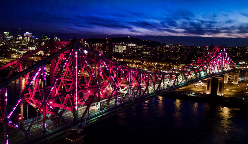 Newsroom | v2com-newswire | Newswire | Architecture | Design | Lifestyle - Press release - Illumination of the Jacques-Cartier Bridge | Creating the World's Most Connected Bridge - Moment Factory