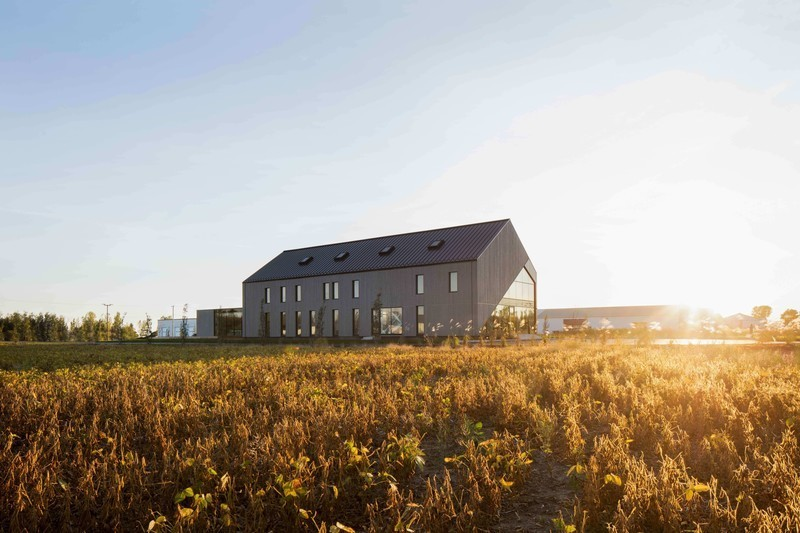 Press kit - Press release - Standing in the Middle of the Field - Maurice Martel architecte