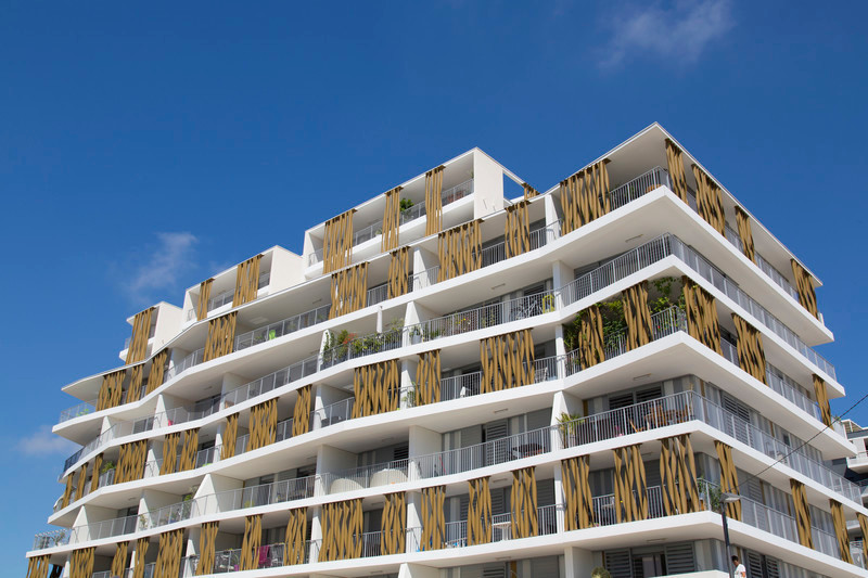 Newsroom - Press release - 87-Apartment Housing Complex «Lez-in-Art» in the Left Bank ZAC (SERM) in Montpellier - France - NBJ architectes