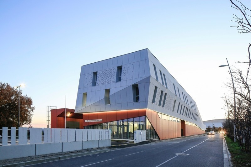 Press kit - Press release - Centre Technique Municipal de Blagnac - NBJ architectes