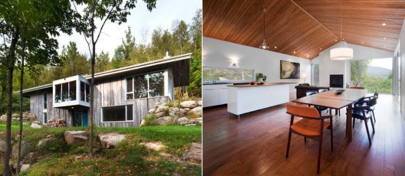 Salle de presse | v2com-newswire | Fil de presse | Architecture | Design | Art de vivre - Communiqué de presse - Résidence Bromont - Blouin Tardif Architecture-Environnement