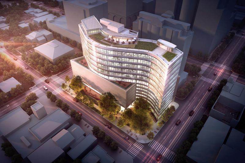 Dossier de presse - Communiqué de presse - SXSW Headquarters Breaks Ground - Pei Cobb Freed & Partners
