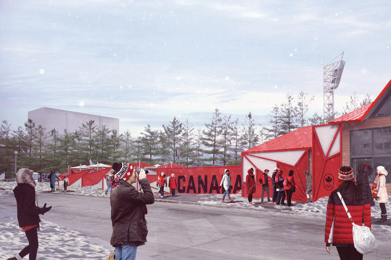 Newsroom | v2com-newswire | Newswire | Architecture | Design | Lifestyle - Press release - Sid Lee Architecture, Official Partner of the Canadian Olympic Committee - Sid Lee Architecture