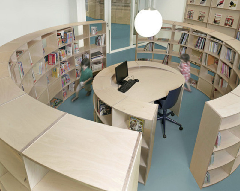 Newsroom - Press release - Spiral Shaped Library - Studio Dave Keune