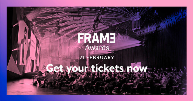 Press kit - Press release - Announcing the Nominees of the Frame Awards 2018 - Frame