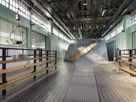 Salle de presse - Communiqué de presse - 9-9 bisConversion du site de la mine en équipement culturel - Hérault Arnod architectures