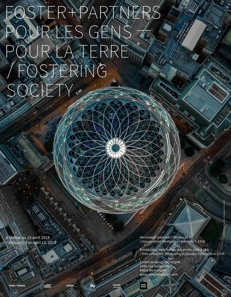 Newsroom | v2com-newswire | Newswire | Architecture | Design | Lifestyle - Press release - Fostering Society: Foster + Partners: Exhibition on Responsible Architecture Pioneers at the UQAM Centre de Design - UQAM Centre de Design