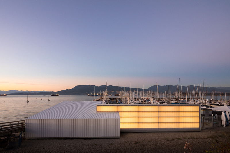 Press kit - Press release - The Dock Building - MGA | MICHAEL GREEN ARCHITECTURE