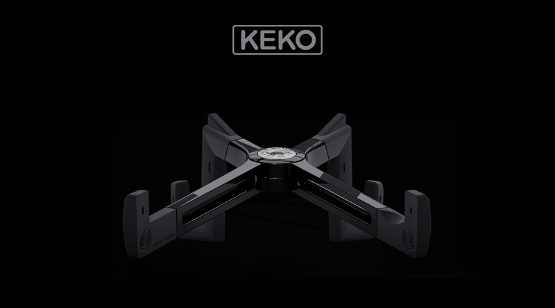 Newsroom | v2com-newswire | Newswire | Architecture | Design | Lifestyle - Press release - The Keko Tablet Stand: A New Design with a New Approach to Ergonomics - X2 PRODUCTS EDITION