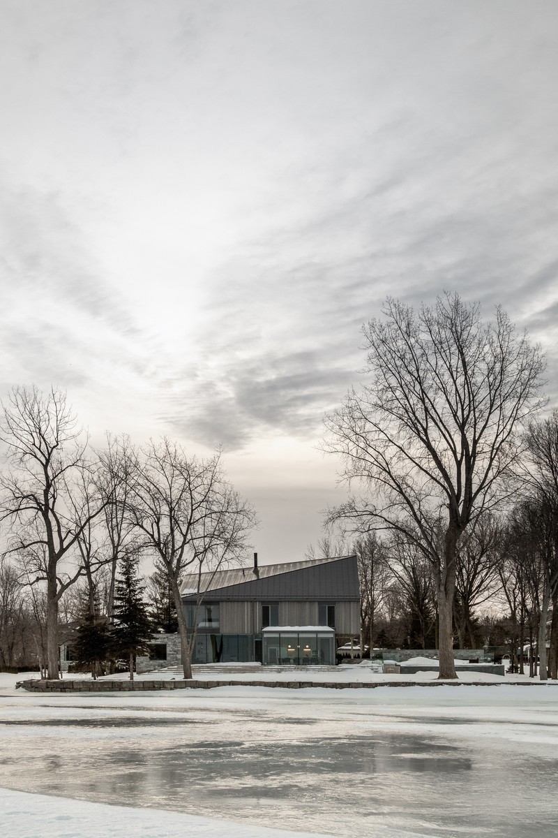 Newsroom | v2com-newswire | Newswire | Architecture | Design | Lifestyle - Press release - Langlois-Lessard Residence - Chevalier Morales