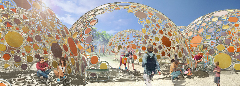 Press kit - Press release - Bubble Shade - Valerie Schweitzer Architects