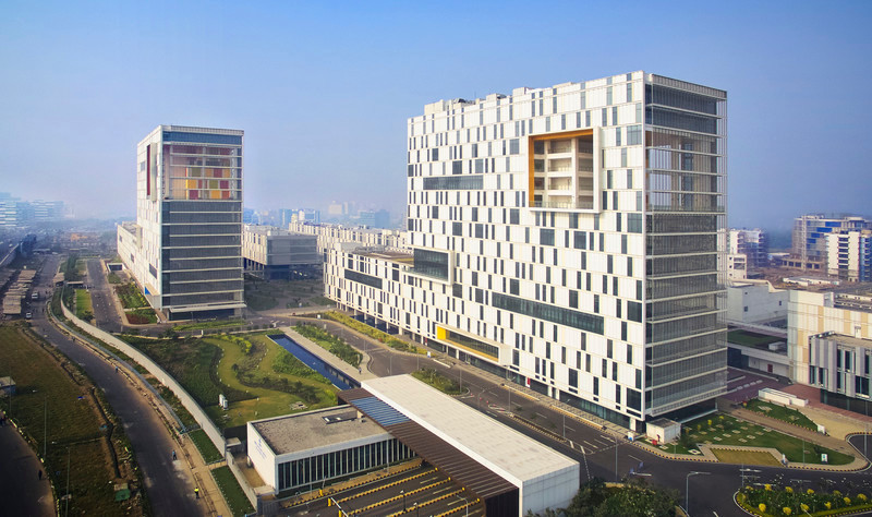 Newsroom | v2com-newswire | Newswire | Architecture | Design | Lifestyle - Press release - Tata Consultancy Services Software Development Campus Fosters Community and Celebrates Indian Culture - Yazdani Studio of CannonDesign