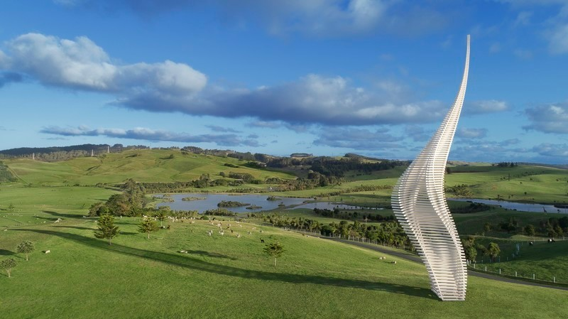 Newsroom | v2com-newswire | Newswire | Architecture | Design | Lifestyle - Press release - JACOB'S LADDER,Gibbs Farm Sculpture Park, New Zealand - Gerry Judah
