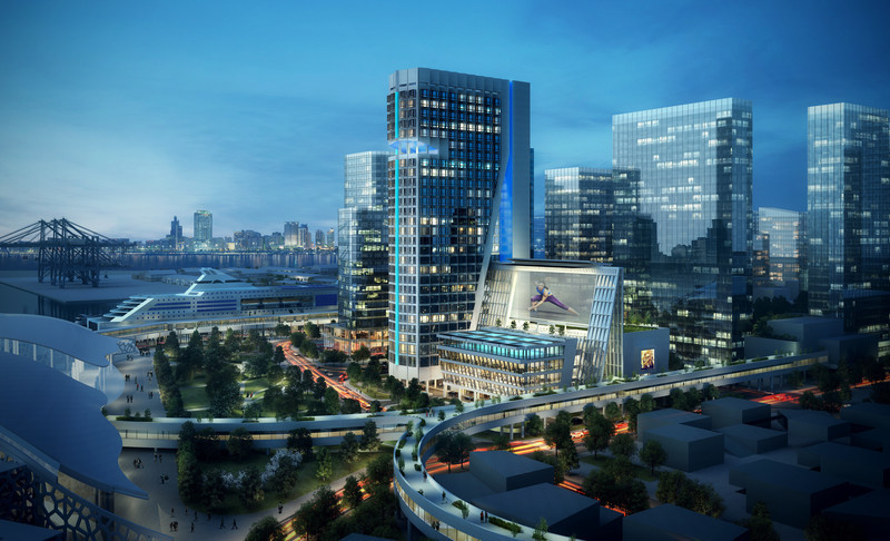 Press kit - Press release - John Portman & Associates Designs Iconic Landmark for Shenzhen, China - John Portman & Associates