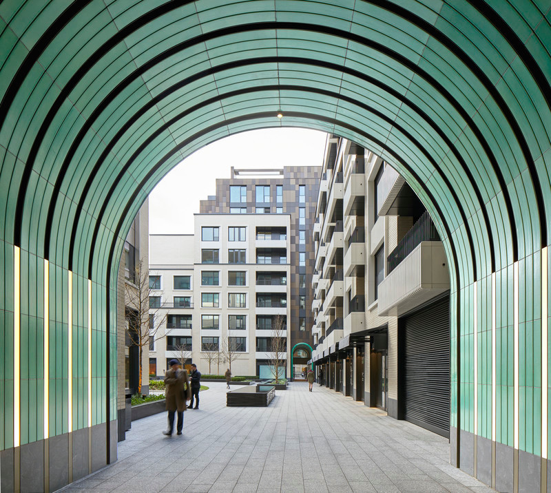 Press kit - Press release - A New Oasis Off London's Oxford Street - Make Architects