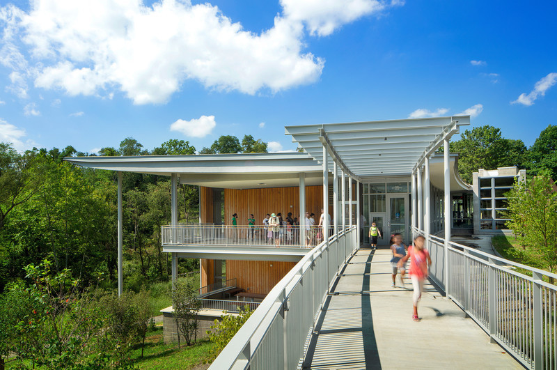 Press kit - Press release - Frick Environmental Center Achieves Prestigious Living Building Certification - Bohlin Cywinski Jackson