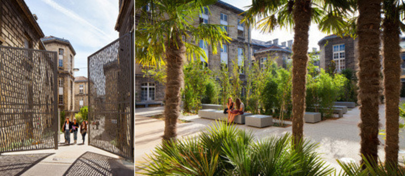 Newsroom - Press release - LeyteireCourtyard - Martin Duplantier Architectes