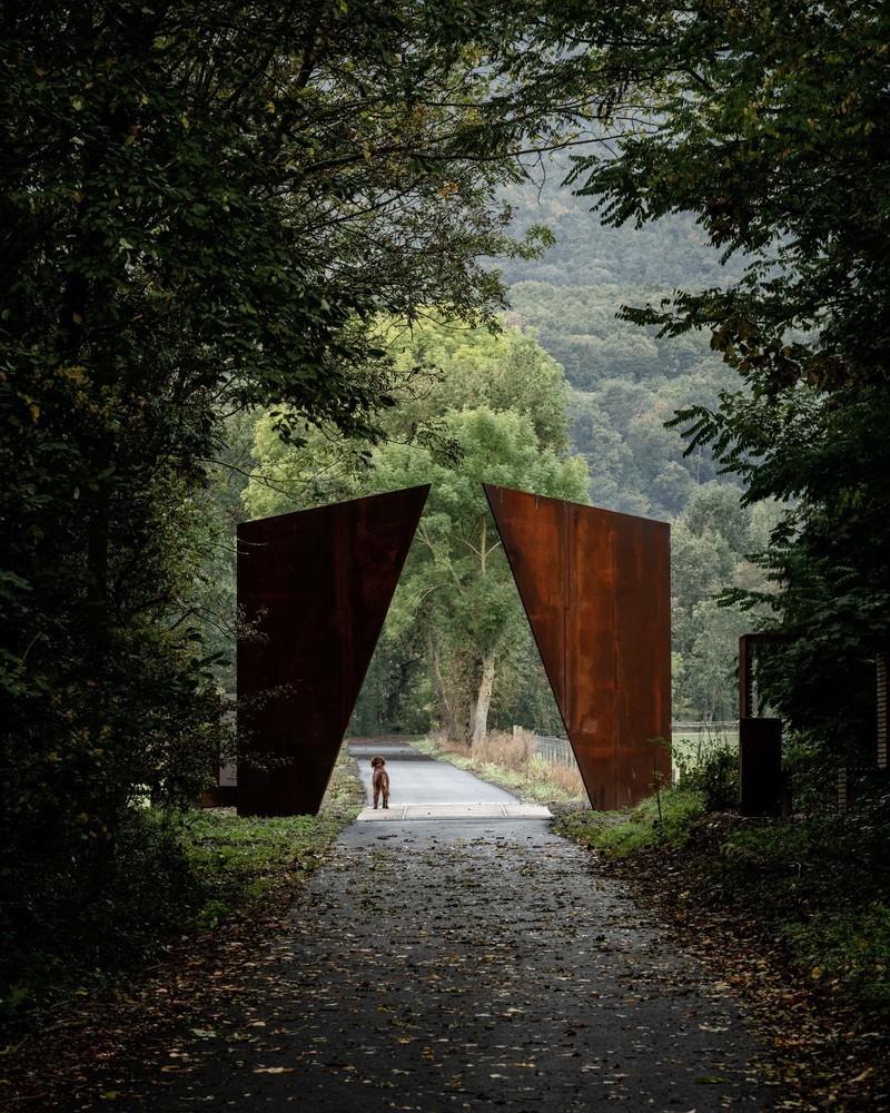 Press kit - Press release - Chemin des Carrières - Reiulf Ramstad Arkitekter