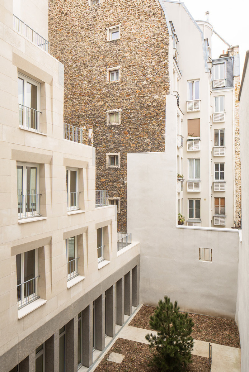 Dossier de presse - Communiqué de presse - Social Housing Units in Massive Stone - Barrault Pressacco architectes