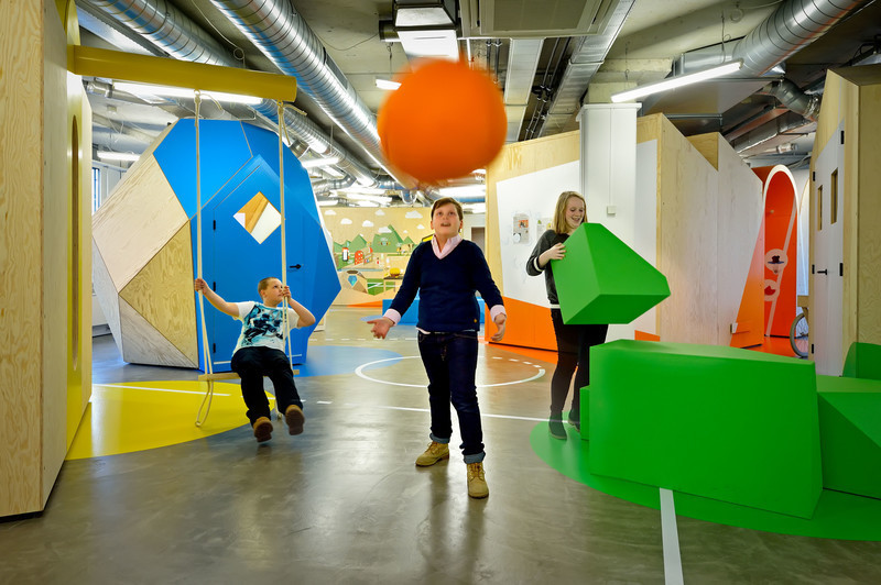 Dossier de presse - Communiqué de presse - European Healthcare Design WinnerCOACH - Interactive and Playful Centre for Overweight Adolescent and Children's Healthcare of the Maastricht UMC+ - Tinker imagineers