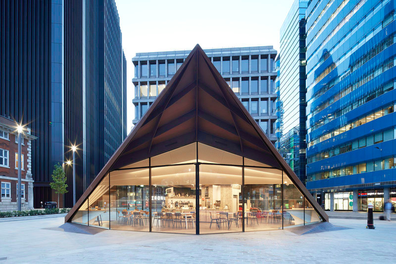 Newsroom | v2com-newswire | Newswire | Architecture | Design | Lifestyle - Press release - Make Unveils New Monocoque Pavilion for City of London - Make Architects