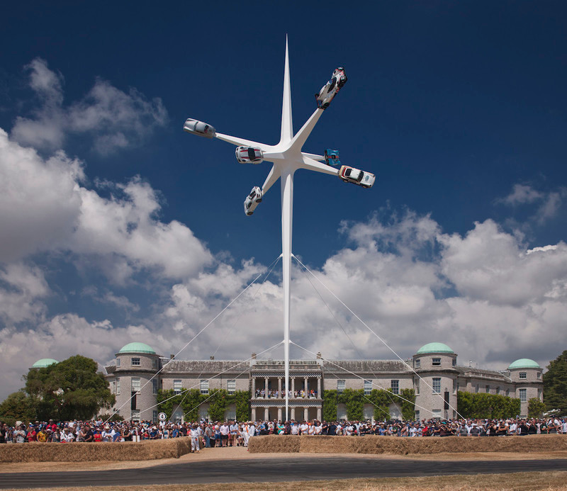 Press kit - Press release - Porsche Sculpture: Goodwood Festival of Speed, 2018 - Gerry Judah