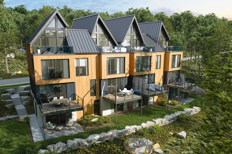Press kit - Press release - Official Launch of Arborescence, a New Mountain Condo Development in Bromont - KnightsBridge