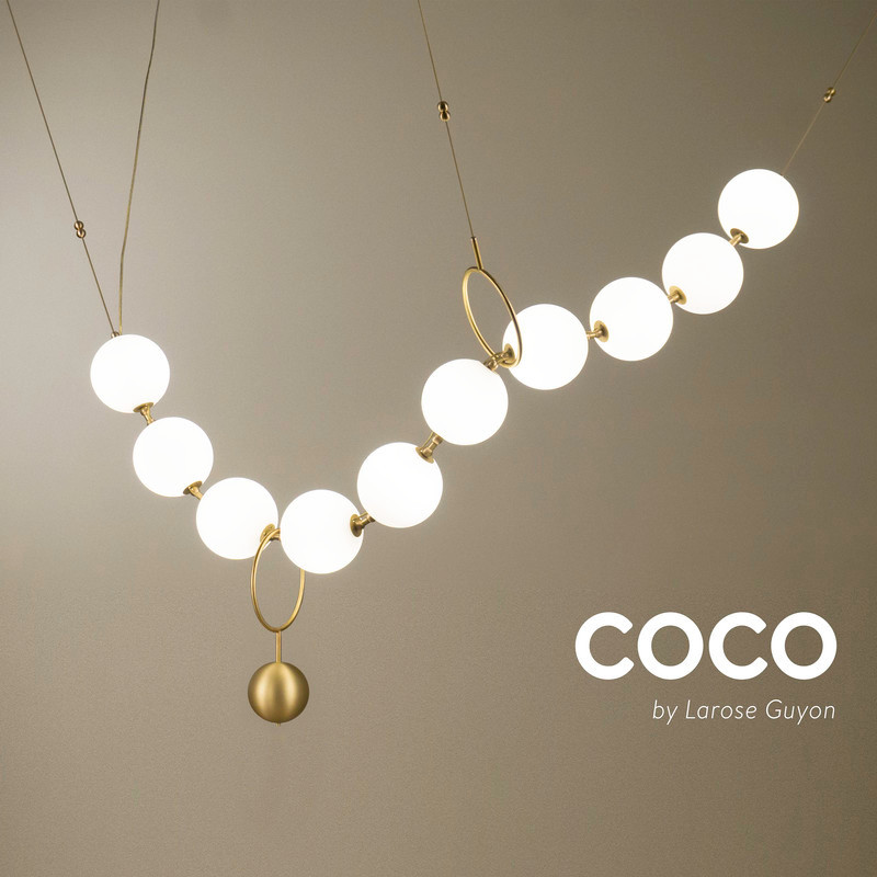 Newsroom | v2com-newswire | Newswire | Architecture | Design | Lifestyle - Press release - Inspired by legend, Coco by Larose Guyon illuminates with an air of sophistication - Larose Guyon