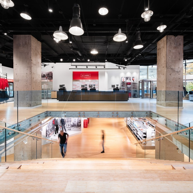 Newsroom | v2com-newswire | Newswire | Architecture | Design | Lifestyle - Press release - Le James - McGill University Bookstore - KANVA