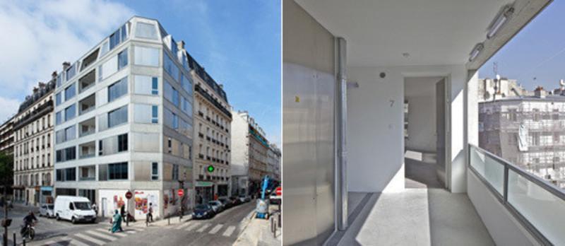 Dossier de presse - Communiqué de presse - 10 logements / Pajol - Bourbouze & Graindorge