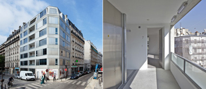 Press kit - Press release - 10 logements / Pajol - Bourbouze & Graindorge