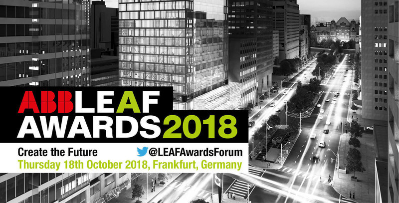 Press kit - Press release - ABB LEAF Awards 2018 - Compelo/ABB