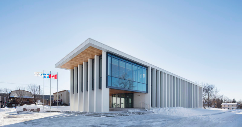 Press kit - Press release - Rigaud City Hall - Affleck de la Riva architects