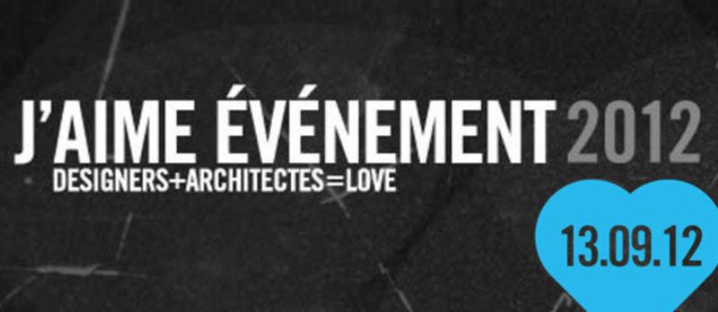 Dossier de presse - Communiqué de presse - J'aime, l'événement 2012 - Kollectif et Index‐Design