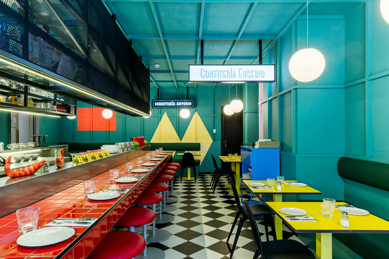 Newsroom | v2com-newswire | Newswire | Architecture | Design | Lifestyle - Press release - Las Chicas, Los Chicos y Los Maniquís Restaurant - EL EQUIPO CREATIVO