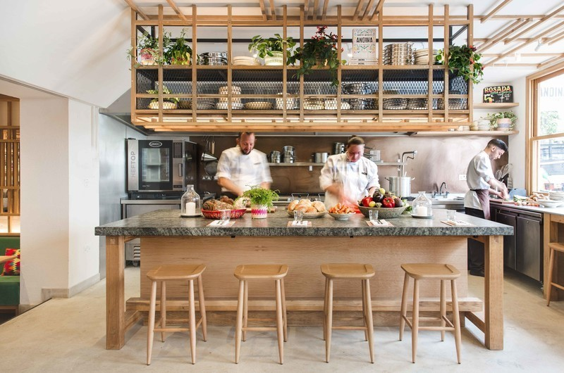 Newsroom | v2com-newswire | Newswire | Architecture | Design | Lifestyle - Press release - Andina Notting Hill Restaurant and Café-Bakery - EL EQUIPO CREATIVO