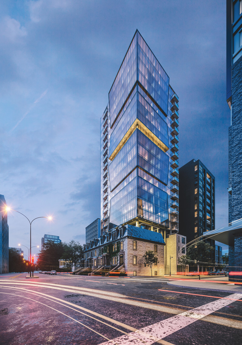 Dossier de presse - Communiqué de presse - ENTICY, a new boutique condo project in downtown Montreal - Claridge-Omnia Technologies-Geiger Huot