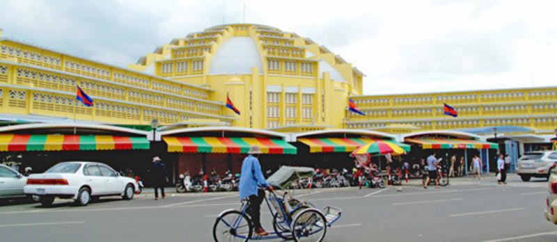 Salle de presse - Communiqué de presse - Réhabilitation-extension du nouveau Marché Central de Phnom Penh - Arte Charpentier Architectes