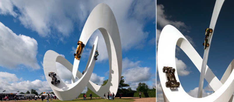 Newsroom - Press release - Lotus sculpture for the Goodwood Festival of Speed 2012 - Gerry Judah