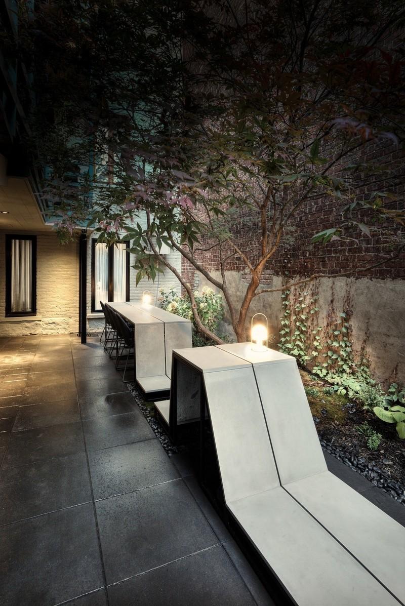 Salle de presse | v2com-newswire | Fil de presse | Architecture | Design | Art de vivre - Communiqué de presse - La cour intérieure - MYTO design d'espaces vivants