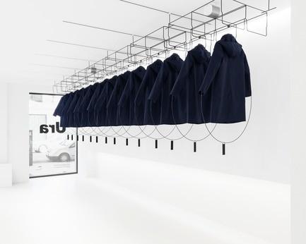 Salle de presse - Communiqué de presse - Design de vitrine pour la boutique Ura - JA! Studio