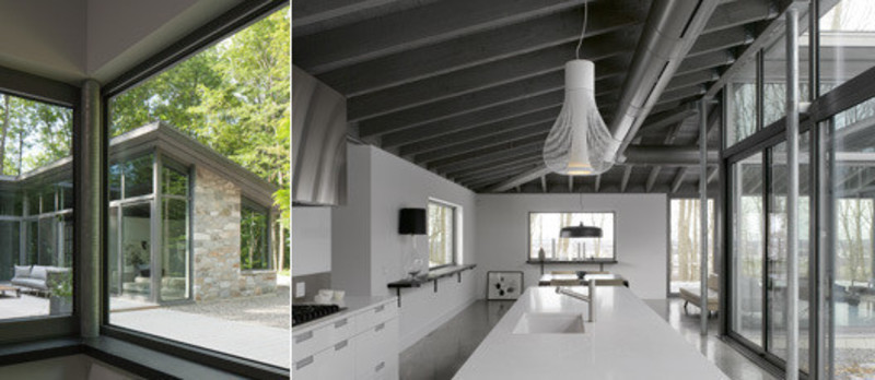 Press kit - Press release - La maison de Bromont - Paul Bernier Architecte