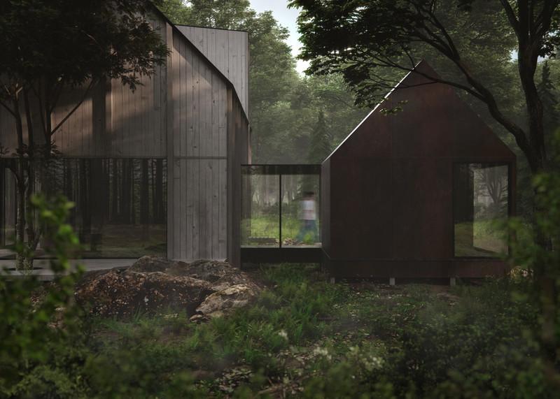 Salle de presse | v2com-newswire | Fil de presse | Architecture | Design | Art de vivre - Communiqué de presse - Beside Cabins, un projet architectural à la jonction de la nature et de la culture - BESIDE
