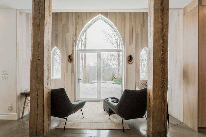 "Newsroom | v2com-newswire | Newswire | Architecture | Design | Lifestyle - Press release - ""Résidence de l'église"":A Neo-Gothic Architecture with a Contemporary Character - Fabelta, Systèmes de fenestration"