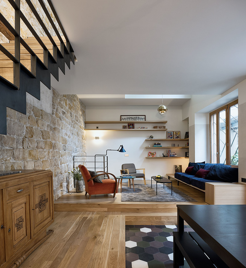 Newsroom | v2com-newswire | Newswire | Architecture | Design | Lifestyle - Press release - A Single Family House in Paris - Alia Bengana + Capucine de Cointet architectes