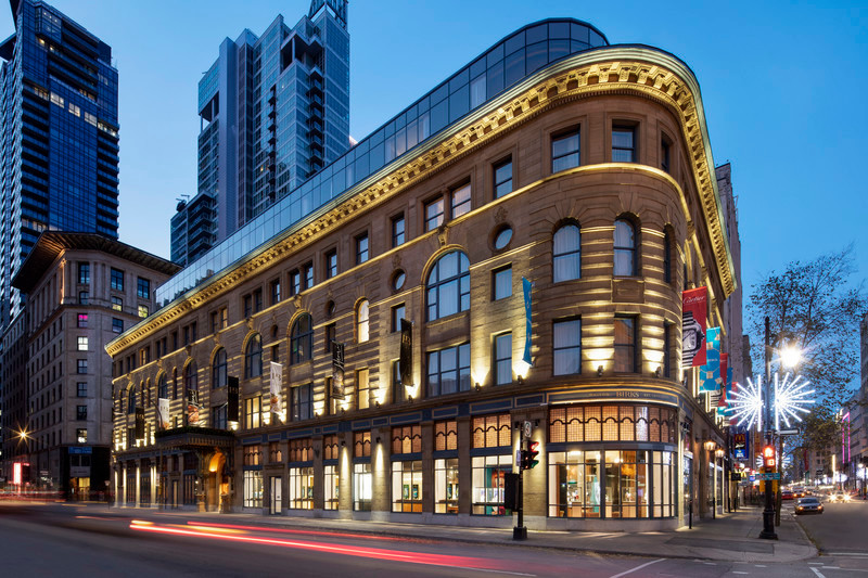 Newsroom - Press release - Birks Hotel: A St-Catherine Street Jewel Restored - NEUF architect(e)s