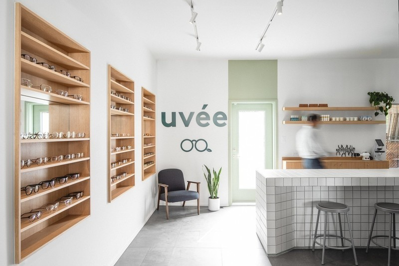 Newsroom | v2com-newswire | Newswire | Architecture | Design | Lifestyle - Press release - Uvée: eco-responsible optometry clinic - CATHERINE CATHERINE