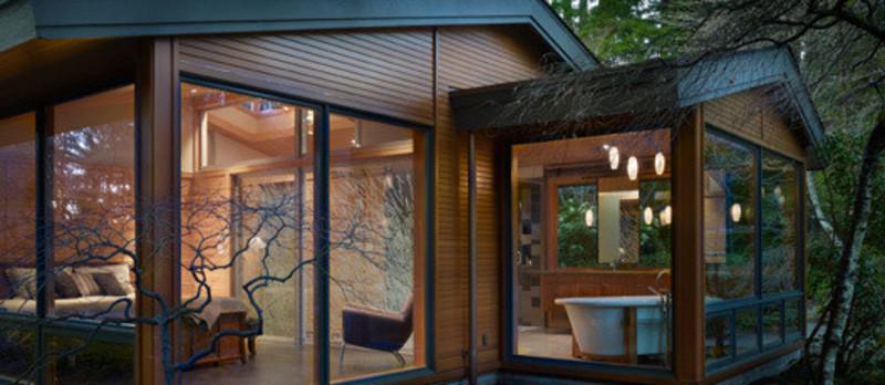 Press kit - Press release - Lake Forest Park Renovation - Finne Architects