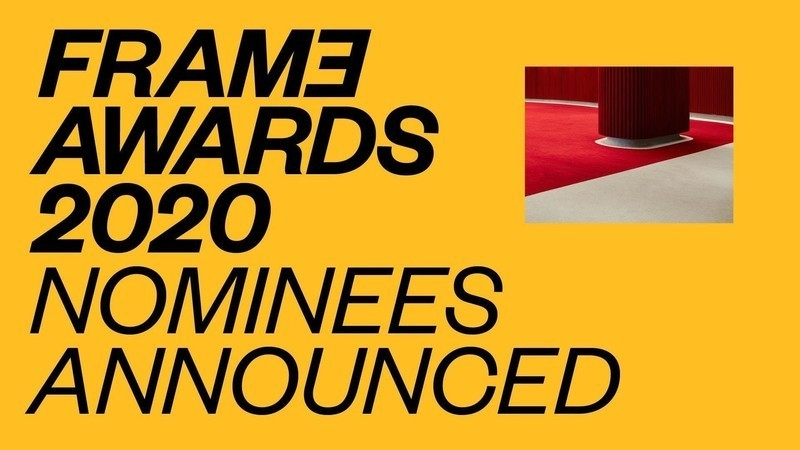 Newsroom | v2com-newswire | Newswire | Architecture | Design | Lifestyle - Press release - Frame Awards 2020 Nominees Announced - Frame